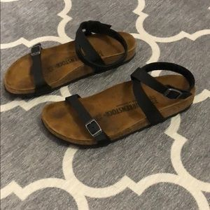 Birkenstock Daloa Sandals Black 37 Narrow